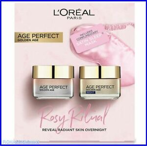 L'Oreal Paris Age Perfect Rosy Ritual Day & Night Skincare Gift Set For Her