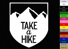 """5"""" Take A Hike Decal Sticker - Vinyl Hiking Camping Backpacking Climbing Outdoor"""