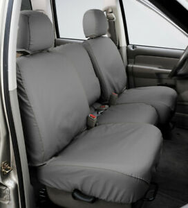 Seat Cover Seat Saver SS3373PCGY fits 05-06 Toyota Tundra Front Gray