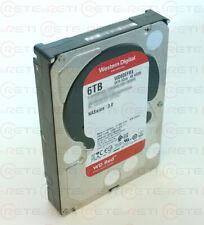 """€ 105,00+IVA Western Digital WD60EFRX 6TB WD RED 3.5"""" - 1 YEAR WARRANTY"""