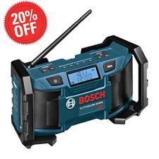Cordless Electric Speaker Radio Jobsite 18 Volt Lithium Ion AM/FM Aux Port Tool