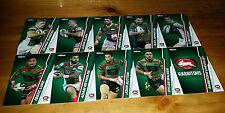 2015 NRL TRADERS SOUTH SYDNEY RABBITOHS COMMON TEAM SET 10 CARDS