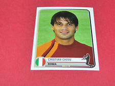 335 CHRISTIAN CHIVU  A.S ROMA UEFA PANINI FOOTBALL CHAMPIONS LEAGUE 2005/2006