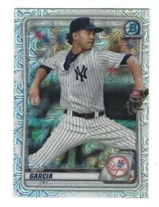 2020 Bowman Chrome RC Mega Box Mojo Refractor Deivi Garcia #BCP-125 Yankees