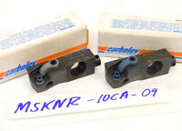2 NEW CARBOLOY INSERT CARTRIDGES MSKNR-10CA-09 (SNMG-322)