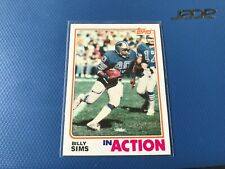 1982 Topps Billy Sims #350