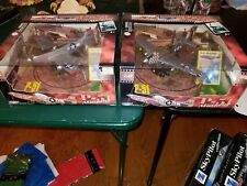 Pair of Motor Max P-51 Mustang Airplanes 1/48 Die Cast And Plastic