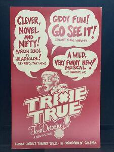 "Trixie True Theater Broadway Window Card Poster 14"" x 22"""