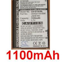 Batterie 1100mAh type 35H00118-00M BA S330 JADE160 Pour HTC Touch Cruise II
