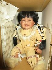 Cathay Collection Native American Little Girl Ashton Drake Indian Doll 376/5000