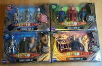 DR WHO Rare Figure Bundle - Series 1 2 3 & Cyberman Age Of Steel - Collectable