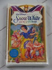 Snow White and the Seven Dwarfs Masterpiece VHS 1994 New Sealed - V908