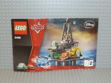 LEGO ® CARS de recette 9486 OIL RIG Escape Cahier 2 perforées instruction b350