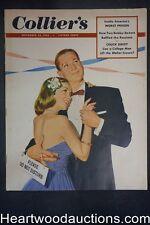 Collier's Nov 22, 1952 Lee Burke Cover, Coca-Cola ad
