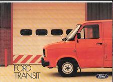 FORD Transit 1982 brochure di vendita