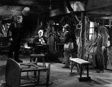 O.P. Heggie, Boris Karloff and Frank Terry - H7796 - The Bride of Frankenstein