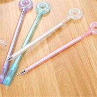 6pcs Cute Cartoon Kawaii Doughnut Cand Gel Ink Roller Ball Point Pen School Kids