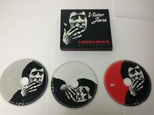 Victor Jara Antologia: El Derecho de Vivir Import 2 CD + DVD 3 DISC