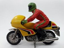 Britains Norton Cafe Road Racer Racing Motorcycle Toy Vintage w Rider