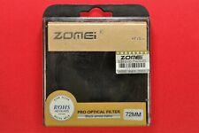 72mm 6 point star filter HD GLass, Black Almite Frame