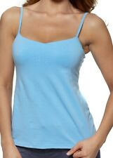 Alessandra B Cotton Classic Camisole with Built in Underwire Bra - M3001