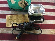 Vintage Hollywood Cameralite Super 8 Movielight Model 709 W/ Original Box Works!