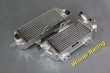40mm aluminum/alloy radiator for Kawasaki KX250/KX 250 2-STROKE 1987-1989