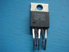 (5) MICREL LM2576BT DC-DC SWITCHING REGULATOR BUCK ADJ 3A 450V TO220-5 PREPPED