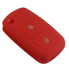 2 Buttons Silicone Car Key Cover For Volkswagen Passat Polo Golf Touran Bora WG