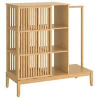 Ikea Armoire pour Chambre D'Enfant Penderie Ouvrir / Porte Coulissante, Bambou,