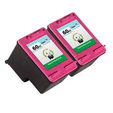 2PK HP 60XL Color Ink Cartridge CC644WN - Deskjet ENVY PhotoSmart Inkjet Printer