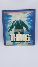 John Carpenter's The Thing MCA Home Video Vintage CED Format