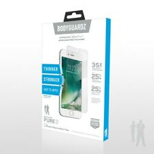 BodyGuardz Pure2 iPhone 6s / 7, Tempered Glass Screen Protector - Clear