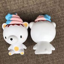 Kawaii Squishy Ice Cream Bear Poo Squeeze Super Slow Rising Fun Toy Gift