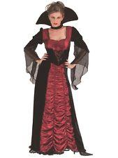 Taffeta Coffin Vampiress Vampire Halloween Fancy Dress Costume P10725