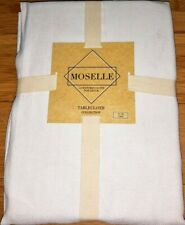 """Moselle Lintex Linens Textured Tablecloth 70"""" Round"""