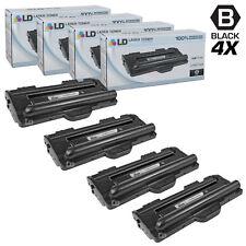 LD © Fits Samsung ML-1710D3 4pk Black ML-1500 ML-1700 Series Printers