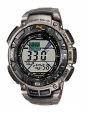 CASIO Pro Trek Mens Solar Powered Multi functional Watch 100 M PRG-240T-7ER