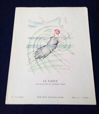 Pochoir Art déco-  THAYAHT - Bon Ton 1923 Pl.11