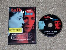 Talk to Her Dvd 2003 Pedro Almodovar Canadian