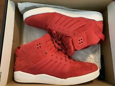 *RARE* Red Suede Supra Skytop III/3 Shoes (Sz-10.5)