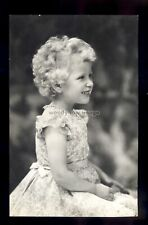 r4295 - Hrh. Princess Anne in Lacey Frilly Summer Dress - Tuck's postcard