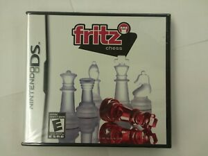 NEW - Fritz Chess Nintendo DS - FACTORY SEALED - Rare Game Classic Strategy