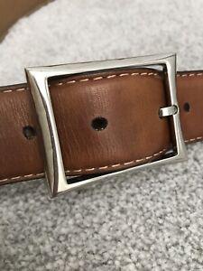 Berluti Belt In Brown Fits 32-36 Waist