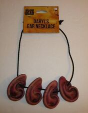 The Walking Dead Daryl Dixon's Bloody Ear Necklace Prop Costume Replica Zombie