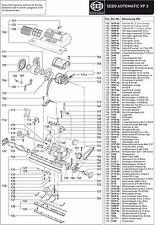 Gebläsemotor, 230V 1000W, komplett für SEBO Automatic XP 3