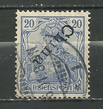 GERMANY KOLONIEN CHINA INVERTED  Pr 14000 € USED