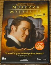 MURDOCH MYSTERIES SERIES SEASON EIGHT EIGHTH 8 WITH SUBTITLES R1 DVD FROM UK