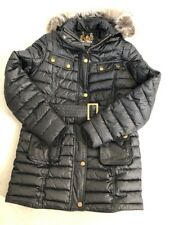 Girls 3/4 Length Barbour Jacket.  Size L