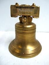 Philadelphia Heritage Whiskey Bicentennial Decanter Liberty Bell 22k Gold 1976